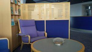Billede 1 af venteområdet hos Djursland-psykologen | Psykolog for Århus og Djursland - 19 minutter fra Aarhus N
