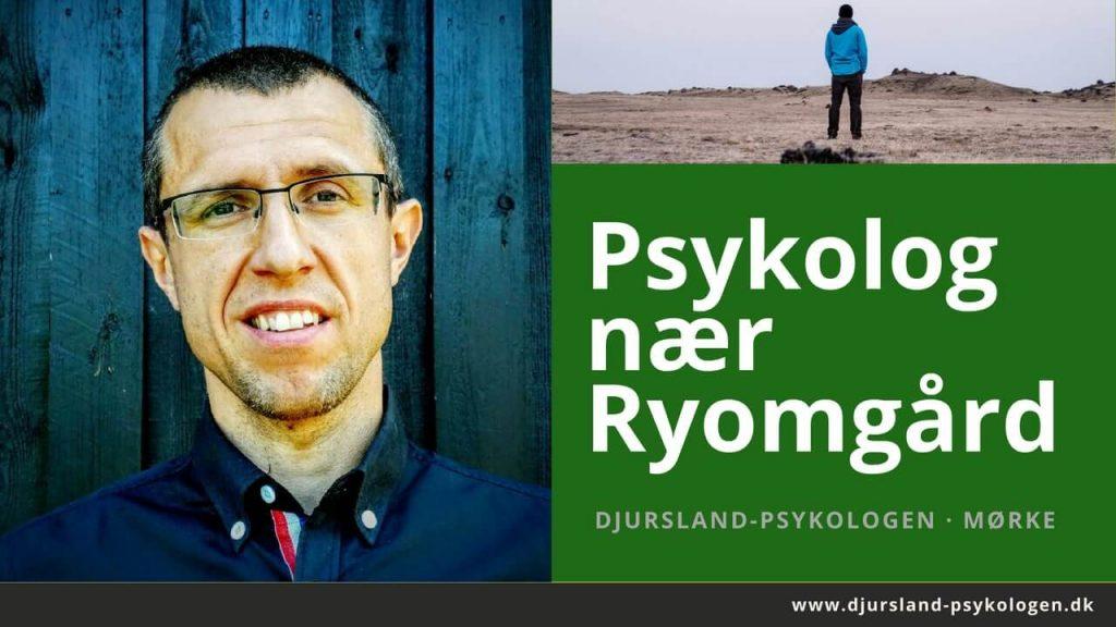Psykolog Ryomgård - lokal psykolog i Mørke, Syddjurs - nær Kolind og Pindstrup