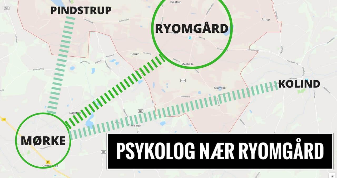 Psykolog Ryomgård · Pindstrup · Kolind - lokal psykolog i Mørke, Syddjurs